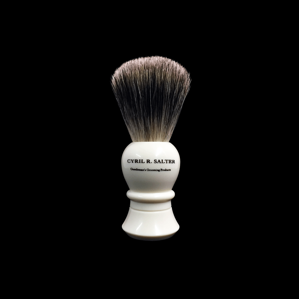 Shaving Brush - Cyril R. Salter Pure Badger Medium Shaving Brush