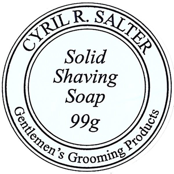 Shaving Soap - Cyril R. Salter Solid Shaving Soap 99g Refill