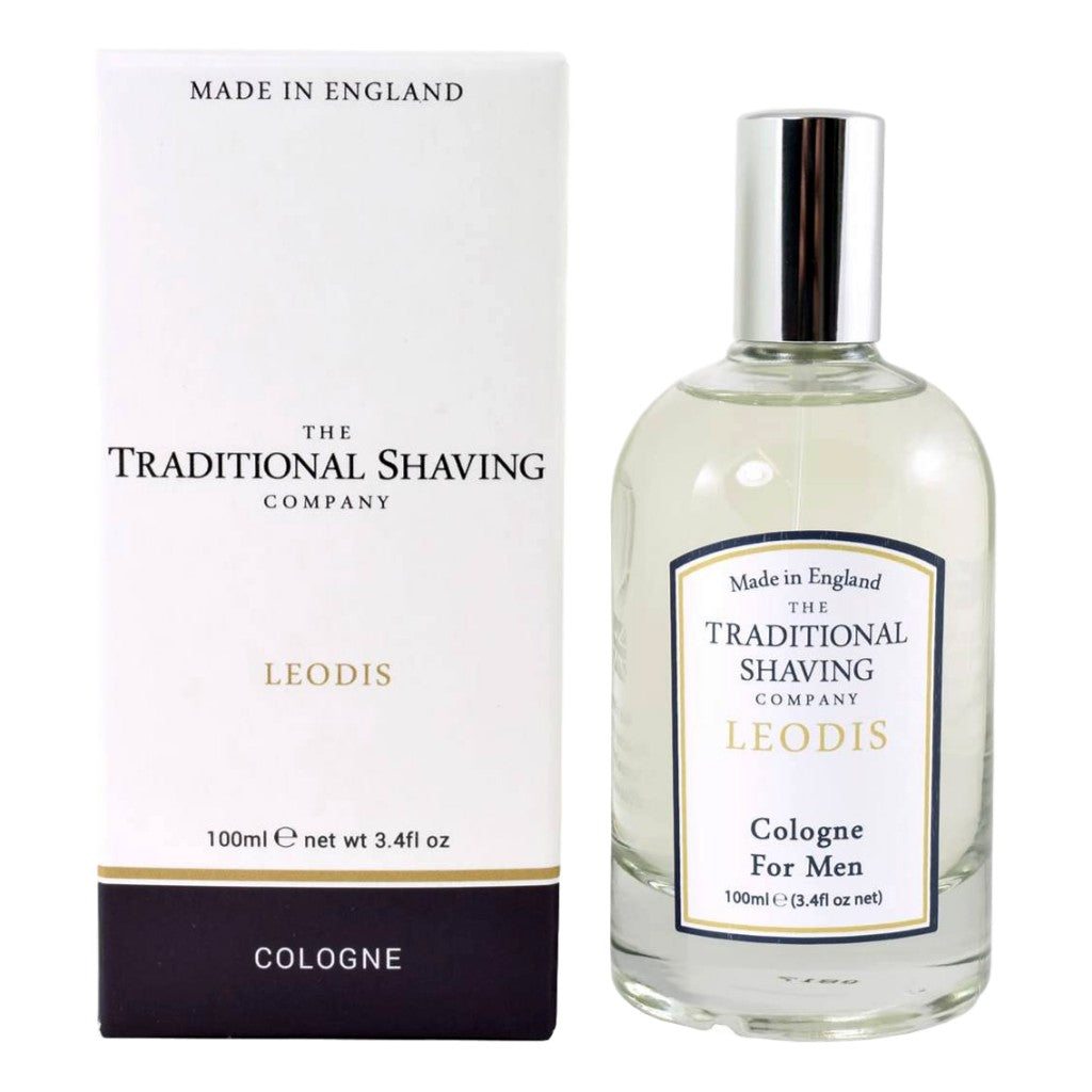 The Traditional Shaving Company Leodis Cologne 100ml - Cyril R. Salter | Trade Suppliers of Gentlemen's Grooming Products