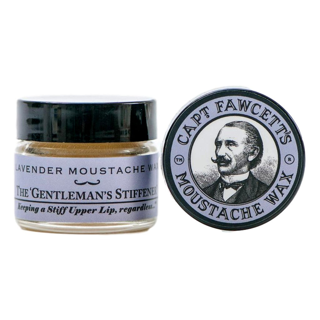 Captain Fawcett's Lavender Moustache Wax