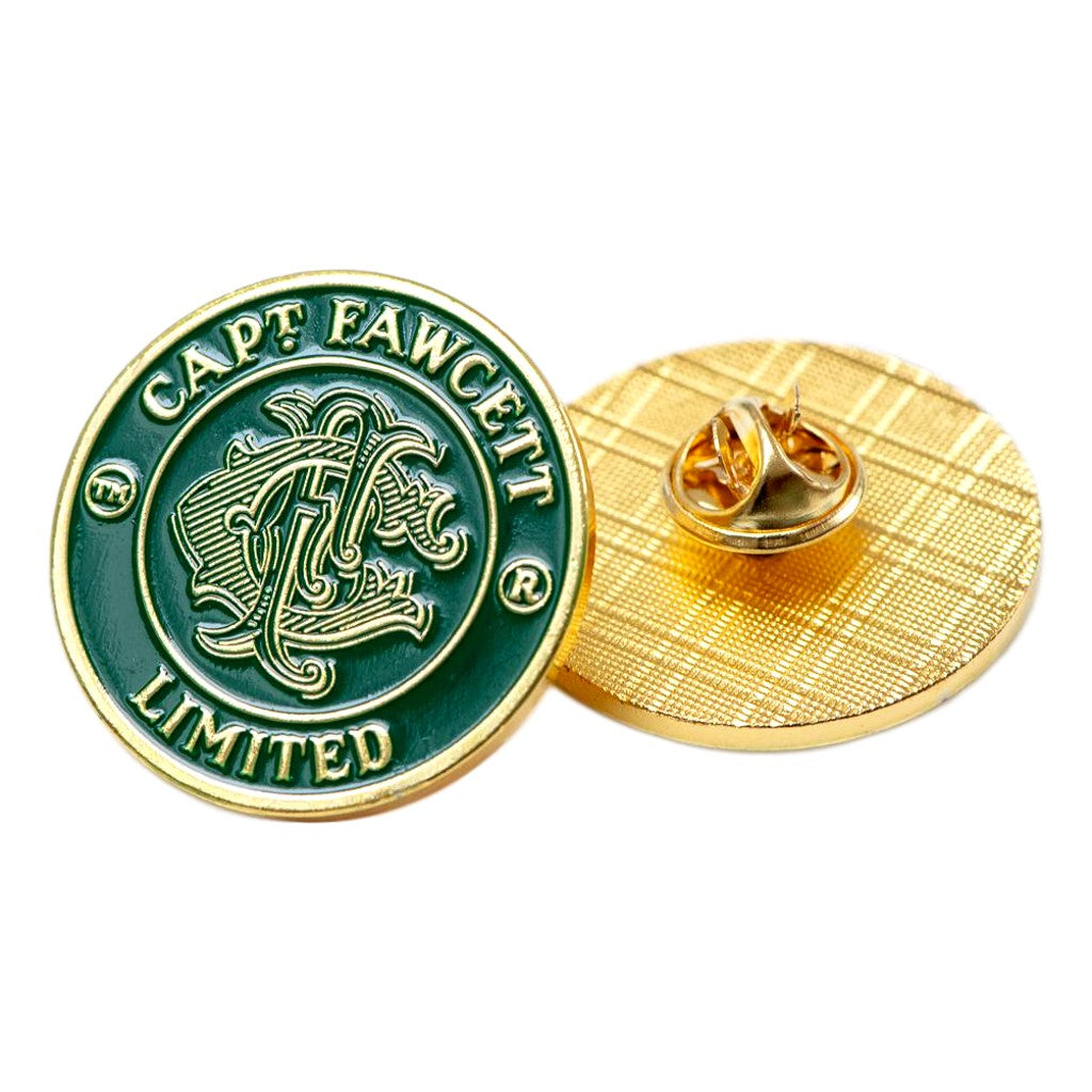 Captain Fawcett's Stove Enamel Badge
