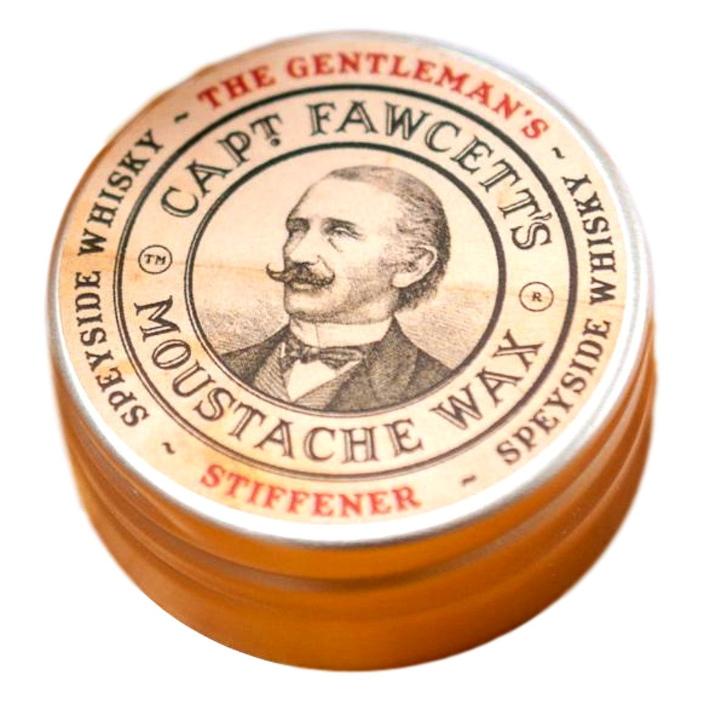 Captain Fawcett's Captain Fawcett's Gentleman's Stiffener Malt Whisky Moustache Wax
