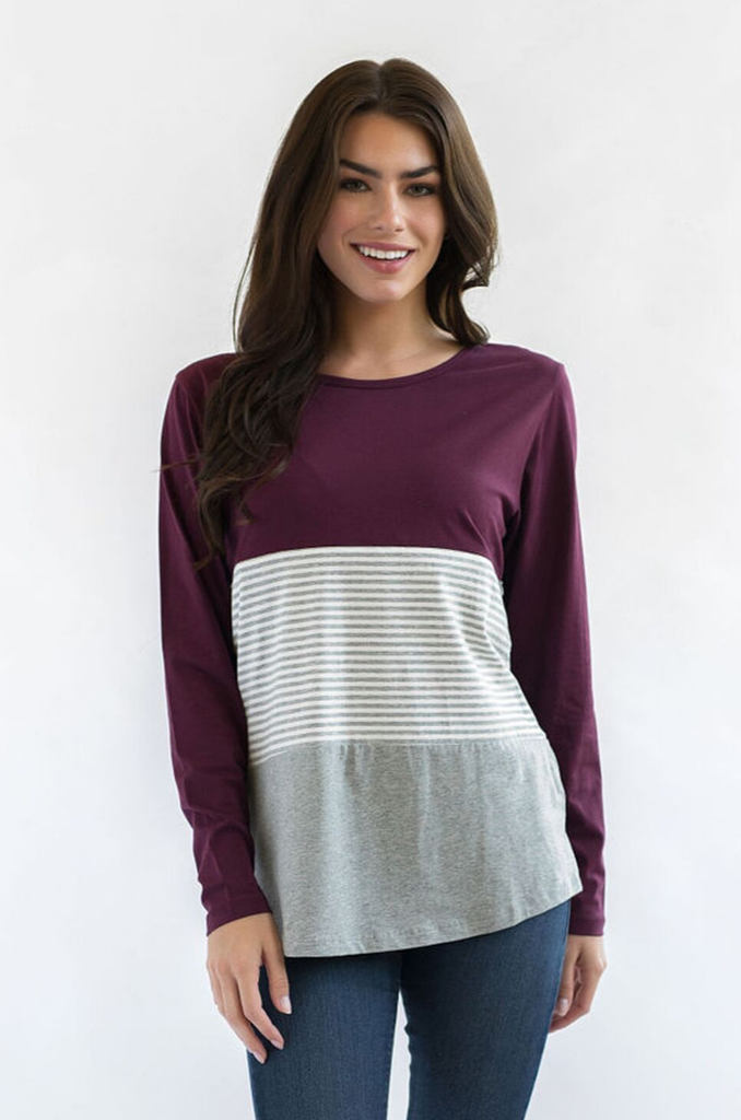 winter nursing top