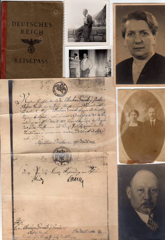 Historic Ephemera Lot from a German WWII Refugee turned American Rocket Scientist