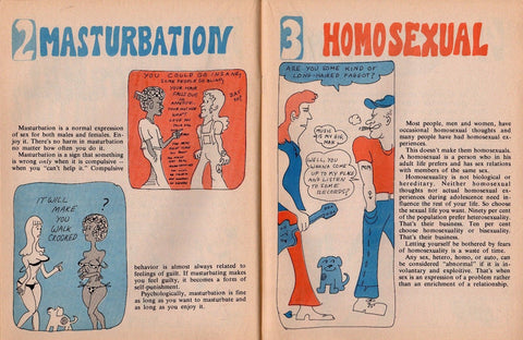 Heavy Facts About Sex Zing Comics Sol Gordon Vintage 1970s Sex Educational Book