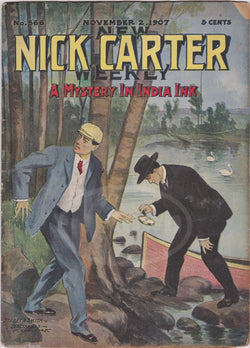 Nick Carter India Ink Mystery Antique Crime Detective Stories Book 1907