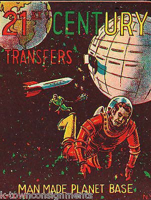 MAN MADE PLANET BASE VINTAGE MP & Co KIDS TRANSFER STICKERS STORE DISPLAY