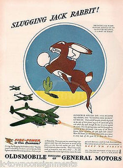 96th FIGHTER SQUADRON INSIGNIA VINTAGE WWII AVIATION GRAPHIC ADVERTISING PRINT - K-townConsignments
