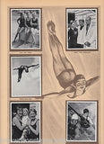 MARSHALL WAYNE OLYMPIC DIVING TEAM OLYMPICS 1936 PHOTO CARDS POSTER PRINT - K-townConsignments