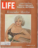 REMEMBER MARILYN MONROE PIN-UP MOVIE ACTRESS VINTAGE LIFE NEWS MAGAZINE 1972 - K-townConsignments