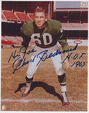 CHUCK BEDNARIK FRANK GIFFORD TACKLE NFL FOOTBALL PLAYER AUTOGRAPH SIGNED PHOTO - K-townConsignments