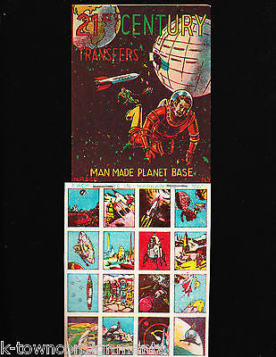 MAN MADE PLANET BASE VINTAGE MP & Co KIDS TRANSFER STICKERS STORE DISPLAY - K-townConsignments