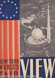 NEW YORK WORLD'S FAIR VIEWS ANTIQUE OVER-SIZED SOUVENIR PHOTO BOOK - K-townConsignments