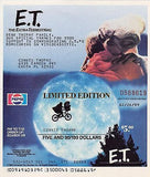 E. T. EXTRA TERRESTRIAL MOVIE VINTAGE LIMITED EDITION VHS PEPSI AD COUPON MAILER - K-townConsignments