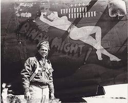 DINAH MIGHT B-24 450th BOMBARDMENT GROUP VINTAGE WWII IDed PHOTOS & DOCUMENTS - K-townConsignments