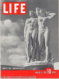 WORLD'S FAIR TWO TON TONY GALENTO & NICE ADS VINTAGE LIFE NEWS MAGAZINE 1939 - K-townConsignments