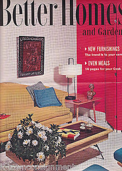BETTER HOMES & GARDENS VINTAGE SALES SAMPLE ADVERTISING FLYER - K-townConsignments