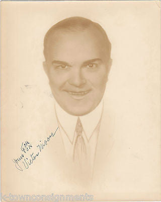 VICTOR MOORE CHIMMIE FADDEN MOVIE ACTOR AUTOGRAPH SIGNED STUDIO PROMO PHOTO - K-townConsignments