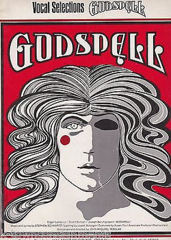 GODSPELL THEATRE PLAY VOCAL SELECTIONS VINTAGE SHEET MUSIC BOOK 1971 - K-townConsignments