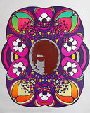 BOB DYLAN AMERICAN MUSIC SINGER VINTAGE PETER MAX GRAPHIC ART POSTER PRINT - K-townConsignments