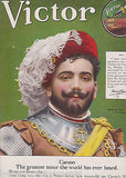 CARUSO VASCO DI GAMA ACTOR VINTAGE VICTOR RECORDS GRAPHIC AD POSTER PRINT 1910 - K-townConsignments