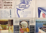 PAN AMERICAN AIRWAYS VINTAGE PAA CLIPPER IN FLIGHT ADVERTISING BROCHURES LOT - K-townConsignments