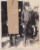 Calvin Coolidge Presidential Radio Address Foreign Aid Antique News Press Photo - K-townConsignments