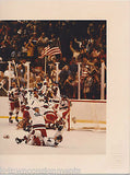 MIRACLE ON ICE HOCKEY LAKE PLACID WINTER OLYMPICS VINTAGE LIMITED EDITION PHOTO - K-townConsignments