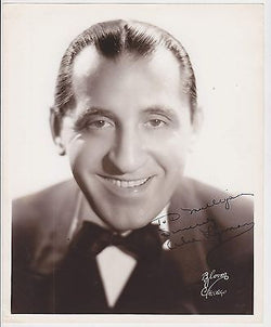 ABE LYMAN EARLY BIG BAND MUSICIAN VINTAGE AUTOGRAPH SIGNED STUDIO PHOTO - K-townConsignments
