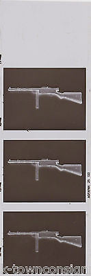 MILITARY MACHINE GUNS GENERAL HOEFER WAPEN MUSUEM VINTAGE PHOTO NEGATIVES - K-townConsignments
