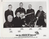 SIX PRIESTS OF IRELAND VINTAGE ROCK COUNTRY MUSIC VINTAGE STUDIO PROMO PHOTO - K-townConsignments