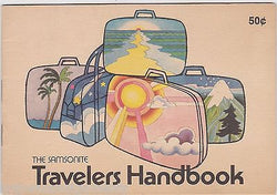 SAMSONITE TRAVELERS HANDBOOK VINTAGE GRAPHIC ADVERTISING VACATION LUGGAGE BOOK - K-townConsignments