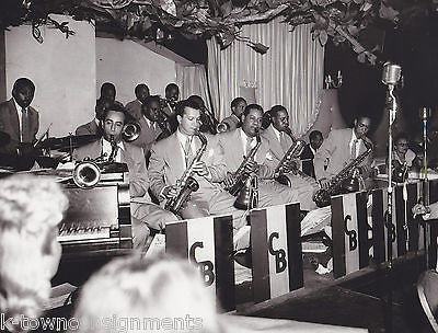 EMMET BERRY SHADOW WILSON COUNT BASIE BAND VINTAGE ROYAL ROOST DRIGGS JAZZ PHOTO - K-townConsignments