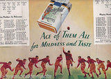 COTTON BOWL 1938 RICE v COLORADO NCAA FOOTBALL PROGRAM BYRON WHITE AUTOGRAPHED - K-townConsignments