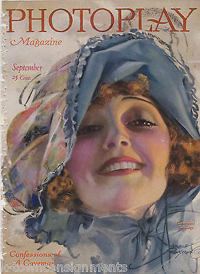 CONTANCE TALMADGE MOVIE ACTRESS VINTAGE 1920 ROLF ARMSTRONG GRAPHIC ART COVER - K-townConsignments