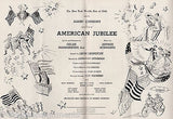 NEW YORK WORLD'S FAIR AMERICAN JUBILEE VINTAGE GRAPHIC ILLUSTRATED PROGRAM 1940 - K-townConsignments