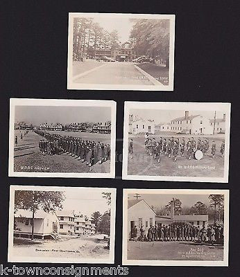FORT OGLETHORPE GEORGIA WAAC TRAINING CENTER VINTAGE WWII MILITARY WOMEN PHOTOS - K-townConsignments
