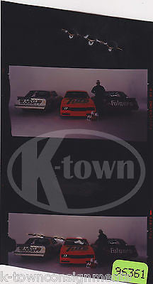 NASCAR RACE CAR DRIVER FOLGER TIDE VINTAGE SUPERFLO OIL ADVERTISING NEGATIVE - K-townConsignments
