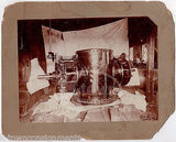 MYRON DAVIS INVENTOR ENGINEER INDUSTRIAL MACHINERY ANTIQUE PHOTOGRAPH ON BOARD - K-townConsignments