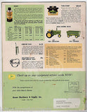 JOHN DEERE TRACTOR & FARMING EQUIPMENT VINTAGE GRAPHIC ADVERTISING PARTS CATALOG - K-townConsignments