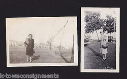 WAC MILITARY WOMAN IN AND OUT OF UNIFORM VINTAGE WWII HOMEFRONT SNAPSHOT PHOTOS - K-townConsignments