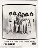 FOREIGNER ROCK WILLS MICK JONES LOU GRAMM VINTAGE FRANK DRIGGS MUSIC PROMO PHOTO - K-townConsignments