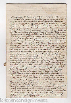 YOUNG DOCTOR WRITES LOVER POST CIVIL WAR COMMENTARY DIARY LINCOLN GRANT & MORE - K-townConsignments