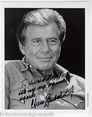 EFREM ZIMBALIST MAVERICK TV & MOVIE ACTOR VINTAGE AUTOGRAPH SIGNED PHOTO - K-townConsignments