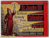 St. JACOBS OIL BALTIMORE MD ANTIQUE GRAPHIC ADVERTISING QUACK MEDICINE BOOKLET - K-townConsignments