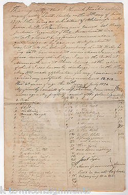 OBADIAH THACHER REVOLUTIONARY WAR VETERAN PENSION REQUEST LETTER HENRY JACKSON - K-townConsignments