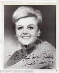 ANGELA LANSBURY MURDER SHE WROTE TV SHOW ACTRESS ORIGINAL AUTOGRAPH SIGNED PHOTO - K-townConsignments