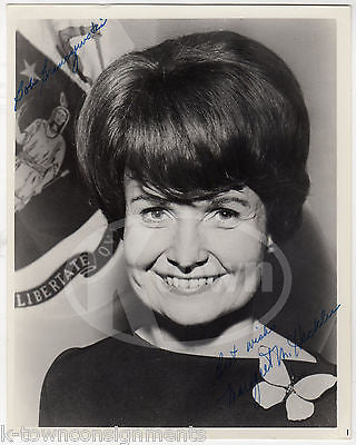 MARGARET KECKLER CONGRESS WOMAN & AMBASSADOR AUTOGRAPH SIGNED 8x10 PHOTO - K-townConsignments