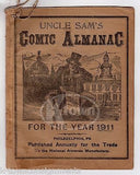 UNCLE SAM'S COMIC ALMANAC PHILADELPHIA PA ANTIQUE QUACK ASTROLOGY BOOK 1911 - K-townConsignments