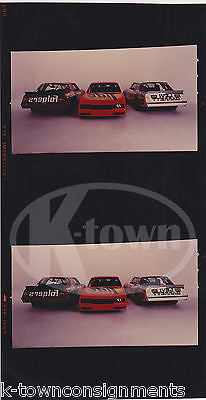 NASCAR FOLGERS TIDE LEVI GARRETT RACING CARS VINTAGE ADVERTISING PHOTO NEGATIVE - K-townConsignments